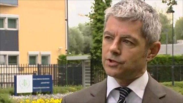 Alan Edwards, spokesman for Naomi Campbell