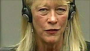 Carole White in court in The Hague