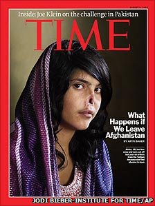 Time magazine Aisha cover