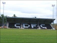 Cefn Druids' new 500-seat stadium