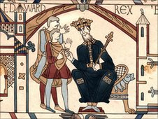 Edward the Confessor, Harold Godwinson, Bayeux Tapestry