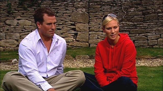 Peter Phillips and Zara Phillips