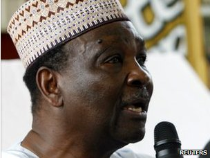 Former Nigerian Head of State General Yakubu Gowon