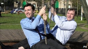 Ed Balls and Andy Burnham