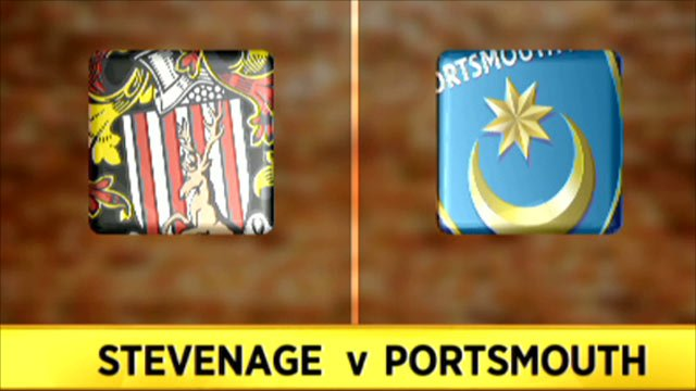 Stevenage v Portsmouth