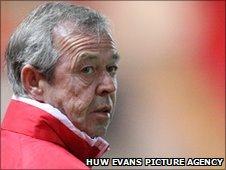 Wales Under-21 manager Brian Flynn