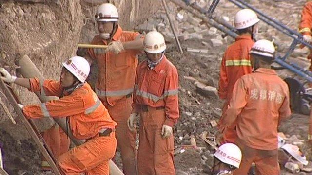 Rescue teams