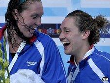 Gemma Spofforth and Lizzie Simmonds