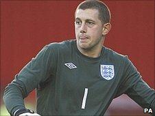 England Under-21 goalkeeper Frankie Fielding