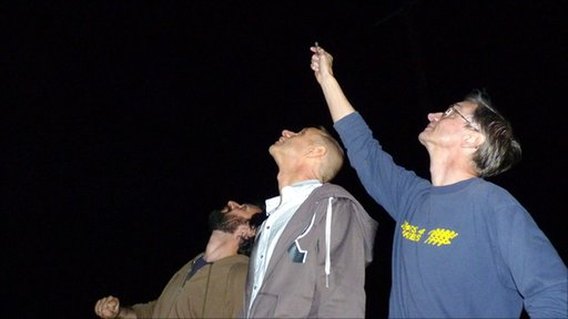 Evan Davis, Mark Pilkington and Ian Ridpath