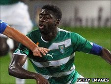 Ivory Coast's Kolo Toure in action against Italy