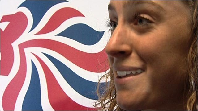 Olympic skeleton champion Amy Williams