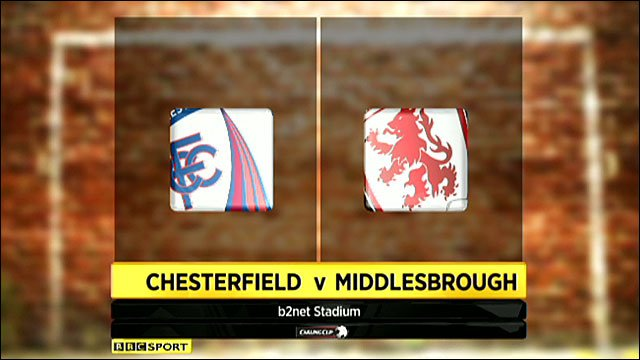 Highlights - Chesterfield 1-2 Middlesbrough (UK users only)