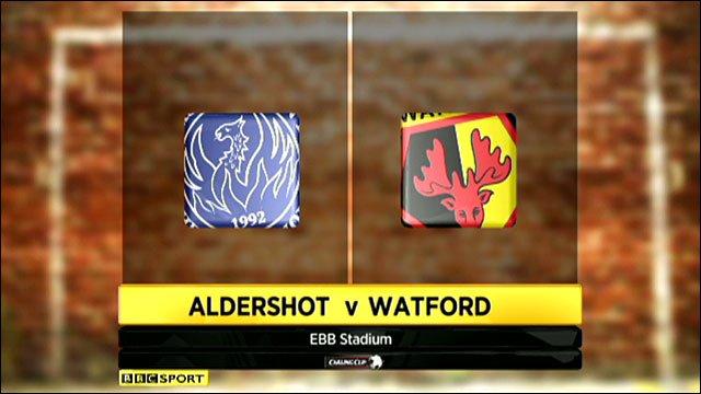Highlights - Aldershot 0-3 Watford