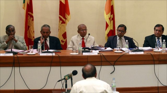 Commission on Lessons Learnt and Reconciliation, held in Colombo, Sri Lanka (11 August 2010)