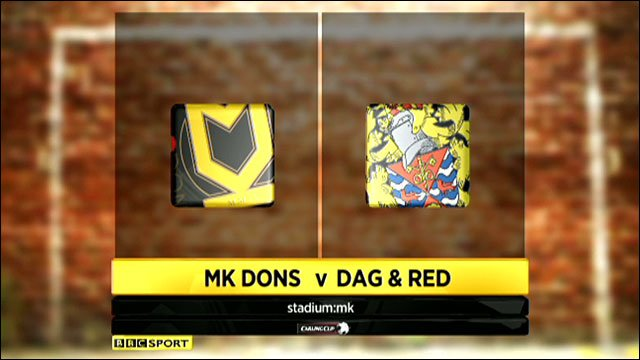 Highlights - MK Dons 2-1 Dagenham & Redbridge