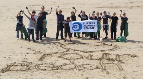 'Motivocean' is SAS's most ambitious beach clean tour to date
