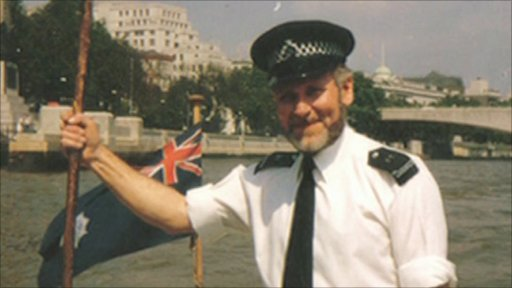 Francis Richins joined the Thames Division in the 1970s