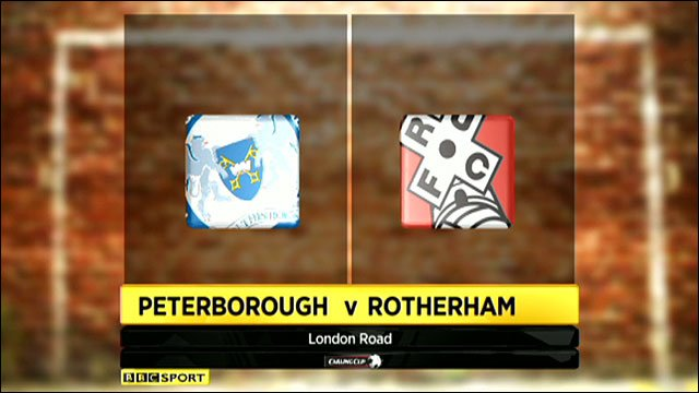 Highlights - Peterborough 4-1 Rotherham