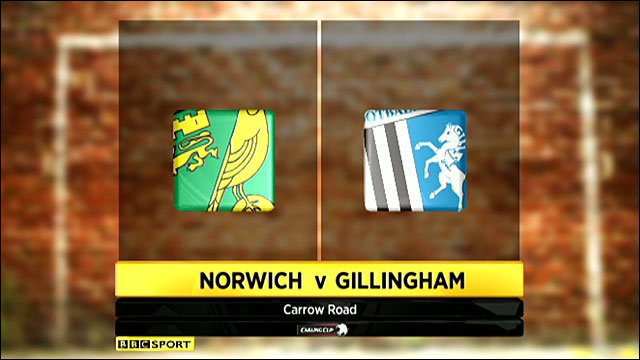 Highlights - Norwich 4-1 Gillingham