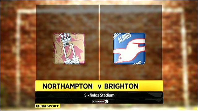 Highlights - Northampton 2-0 Brighton
