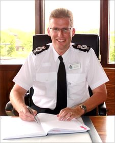 Simon Cole, Chief Constable of Leicestershire Police