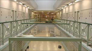Maghaberry Prison interior