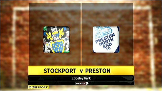 Highlights - Stockport 0-5 Preston