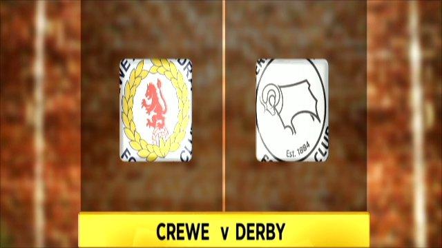 Crewe v Derby