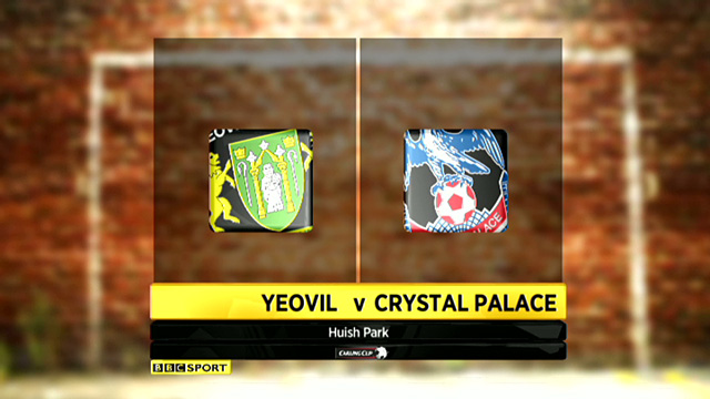 Yeovil 0-1 Crystal Palace