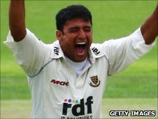 Sussex pace bowler Yasir Arafat