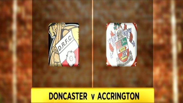 Doncaster v Accrington