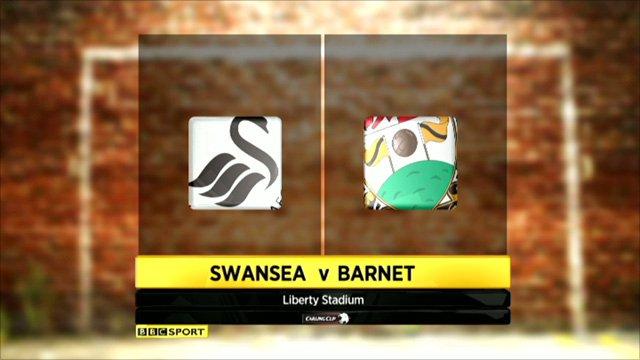 Swansea 3-0 Barnet