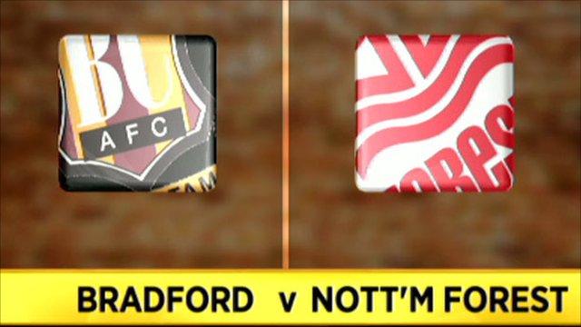 Bradford v Nottm Forest