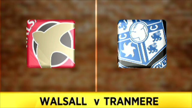 Walsall v Tranmere
