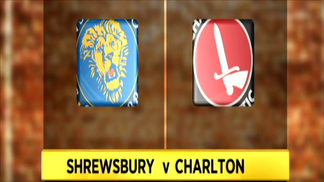 Shrewsbury 4-3 Charlton