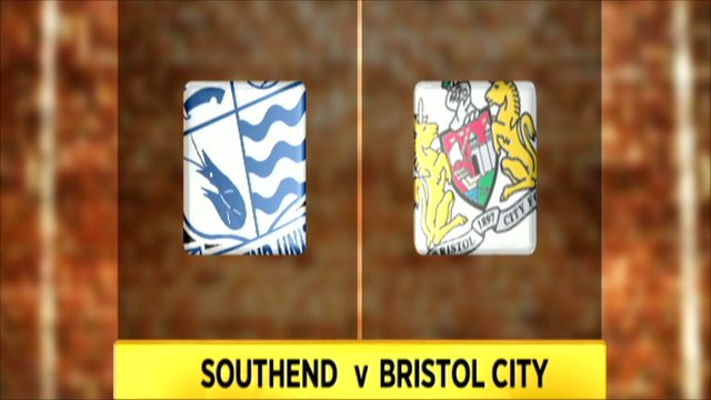Southend V Bristol City highlights