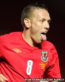 Captain Craig Bellamy was inspirational for Wales