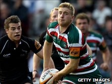 Luke Veebel of Leicester Tigers