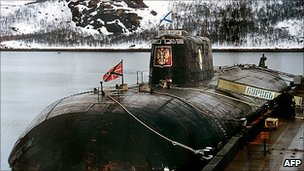 The Kursk submarine