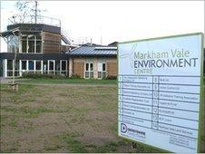 Markham Vale Environment Centre near Chesterfield