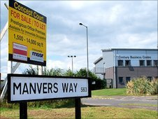 Manvers Way Business Park in the Dearne Valley, South Yorkshire