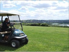 Golf course at Rother Valley Country Park