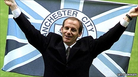 Steve Coppell when he joined Manchester City in 1996
