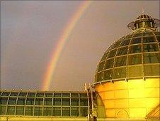 Richard Stocks photographed this rainbow over Meadowhall