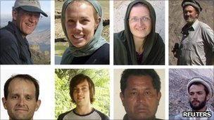 Eight of murdered International Assistance Mission members
