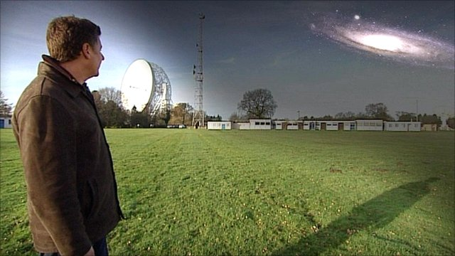 Tim O'Brien at Jodrell Bank
