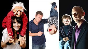 Nina Conti, Paul Zerdin and David Strassman