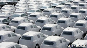 VW cars prepared for export