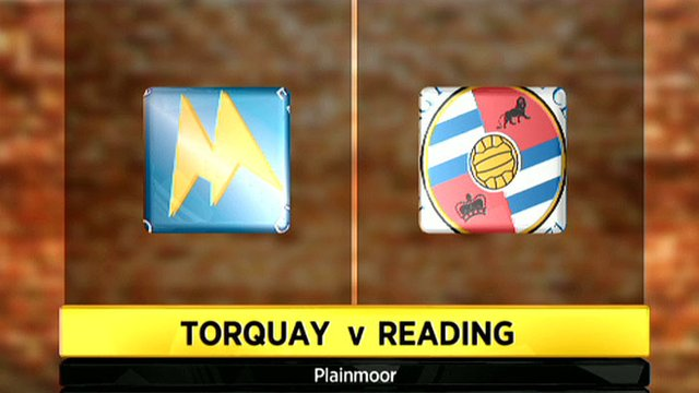 Torquay 0-1 Reading (aet)